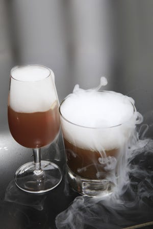 Haunted Cider a fun Halloween drinks concocted by Flavorman's Cory Pierce.