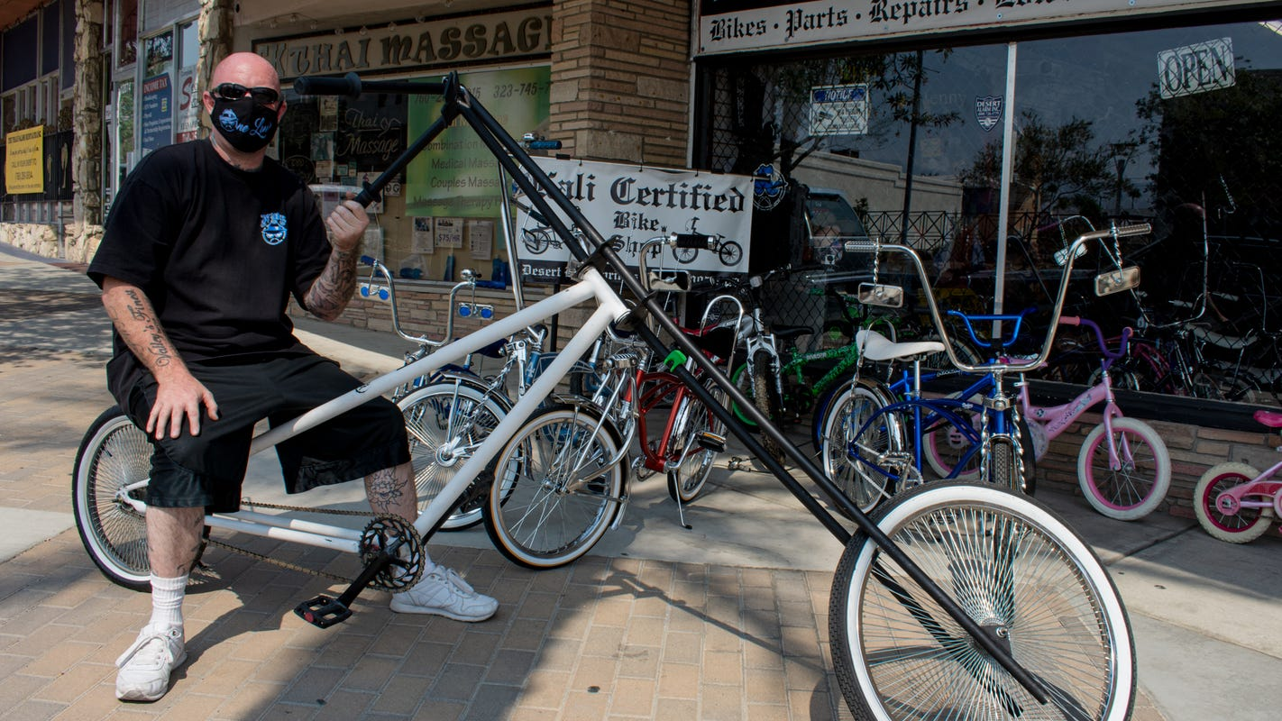 'It's an art form': New Desert Hot Springs shop sells lowrider bikes, accessories, piñatas