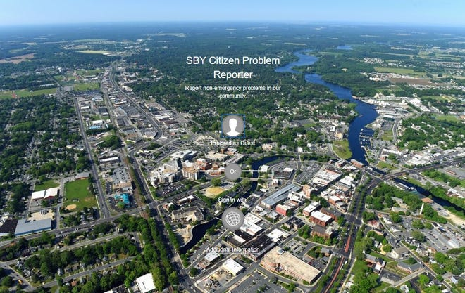 Salisbury's Information Services team announced a new SBY Citizen Problem Reporter, now available on the Maryland city's website, on Sep. 23, 2020.