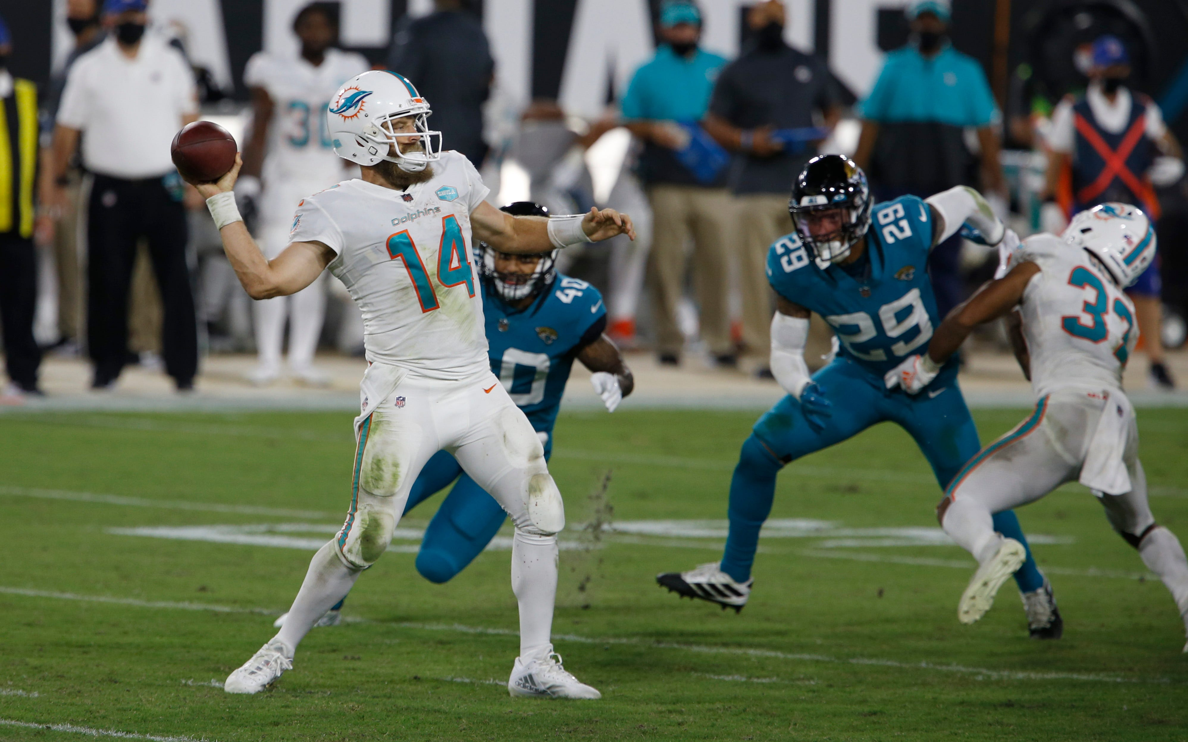 Five takeaways from Miami Dolphins  Thursday night win over the Jacksonville Jaguars