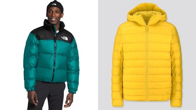 Los mejores regalos para los adolescentes varones: los abrigos The North Face y Uniqlo
