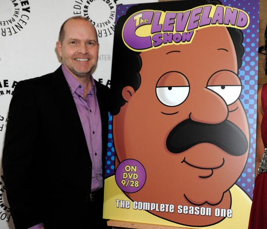 """Mike Henry voiced the character of Cleveland Brown for several years on the animated series """"Family Guy"""" and """"The Cleveland Show."""""""