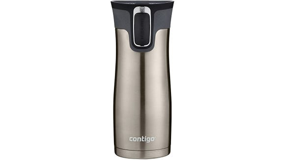 This autoseal travel mug from Contigo is one of our faves.