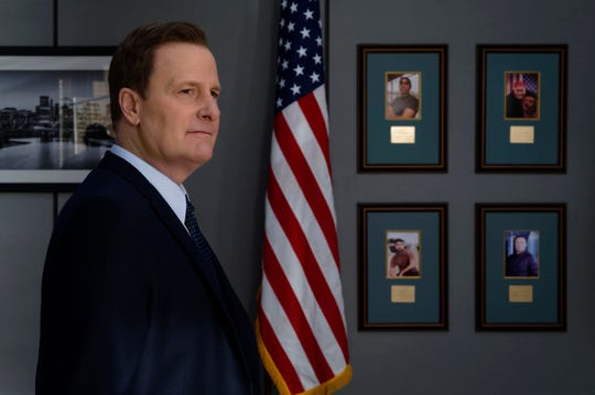 "Jeff Daniels plays FBI Director James Comey in Showtime's ""The Comey Rule,"" the latest in a run of intriguing roles for the longtime actor."