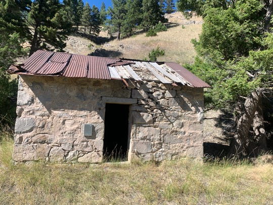 An abandoned dynamite holding facility still stands outside of Marysville, Montana, located in the remote northern part of the state. In the 1880s and 1890s, it was a bustling mining town of 3,000 residents, and was the center of gold mining in Montana. Today, it is largely abandoned but still lures adventurous tourists and history buffs.