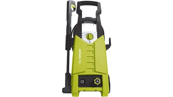 We were obsessed with a similar pressure washer as this sale model from Sun Joe.