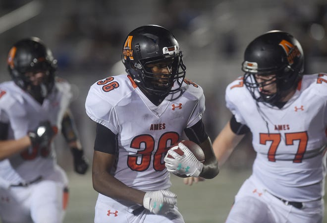Defensive back DeAndre Isaac (36) and the rest of the Ames defense must be ready to face several different formations when the Little Cyclones take on Marshalltown in their season opener Friday at Marshalltown.