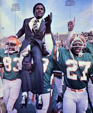Former Florida A&M coach Rudy Hubbard. (credit: Florida A&M University)