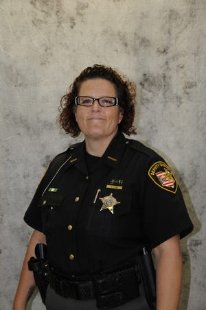 Franklin County sheriff's deputy Angela Kane, who was killed in a crash Friday, Sept. 25.