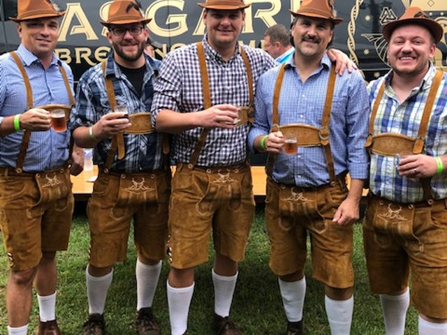 Columbia's first Oktoberfest, which featured nearly a dozen regional breweries, food trucks and live music, generated more than $40,000 for the city's local Room in the Inn shelter. (Courtesy photo