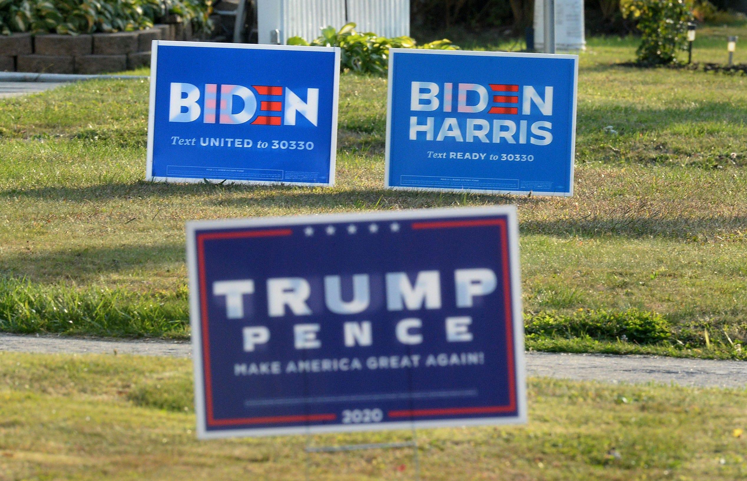 Biden Harris 2020 Vote for Biden USA President Elections Yard Sign