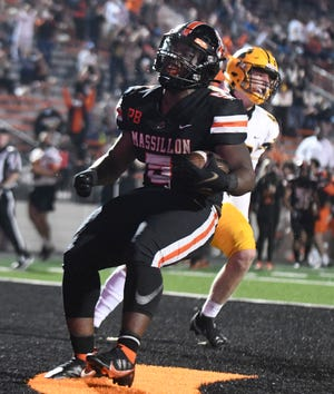 St. Ignatius at Massillon football Friday September 25 2020