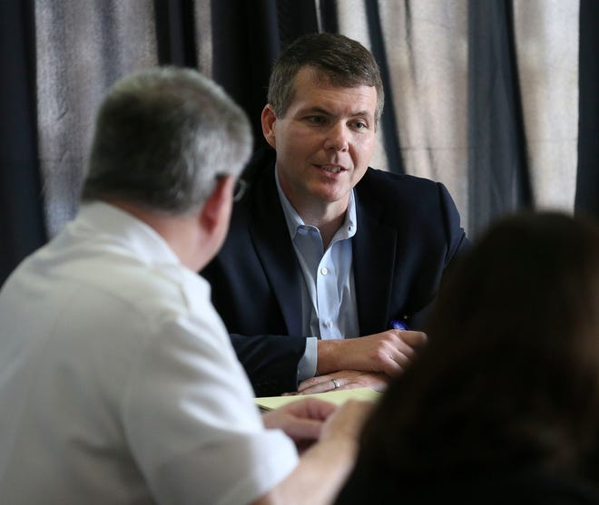 Tuscaloosa Mayor Walt Maddox said Tuesday that the city's COVID-19 trends remained positive for the fourth straight week. [Staff file photo/Gary Cosby Jr.]