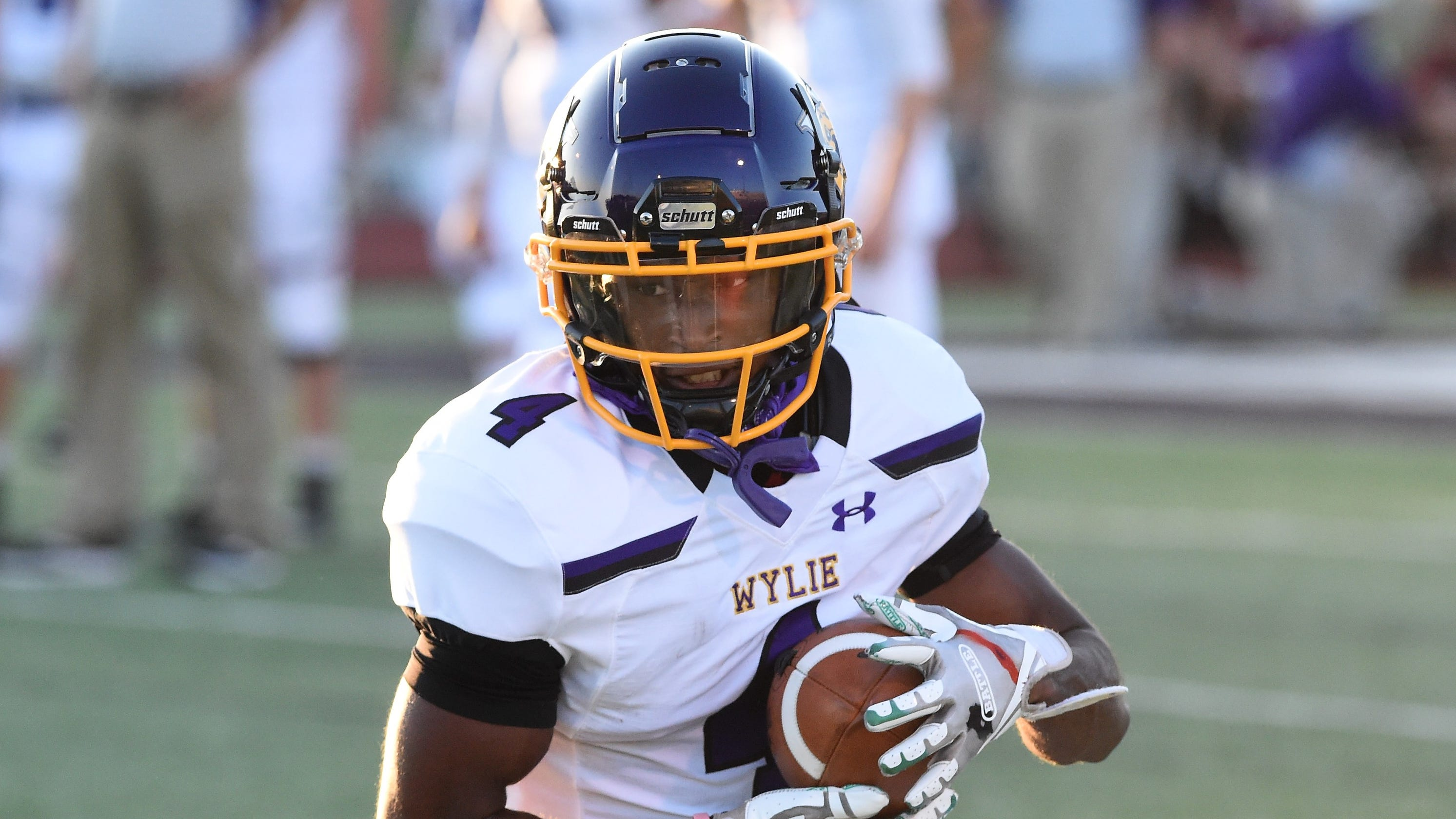 Local Player of the Week: Wylie football's Jahzair George scores award with defense