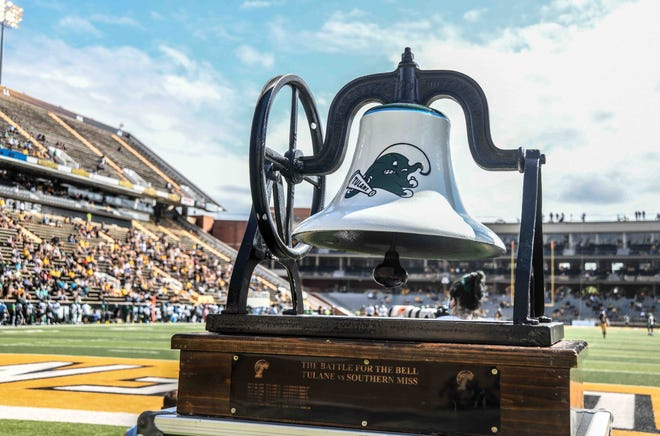 The University of Southern Mississippi and Tulane played in Hattiesburg, Miss., Saturday, Sept. 26, 2020.