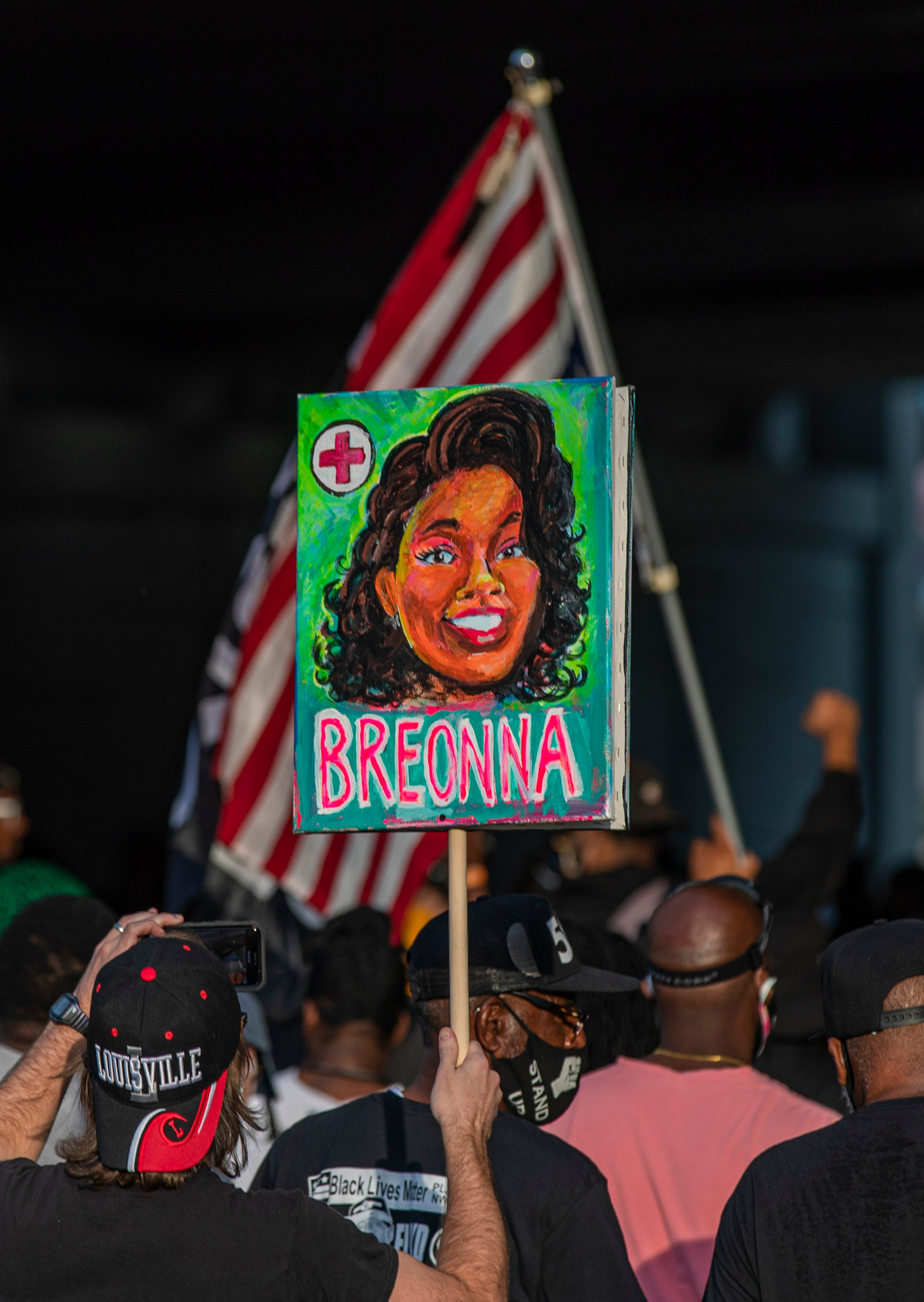Breonna Taylor Protesters Gather In Louisville Chicago New York