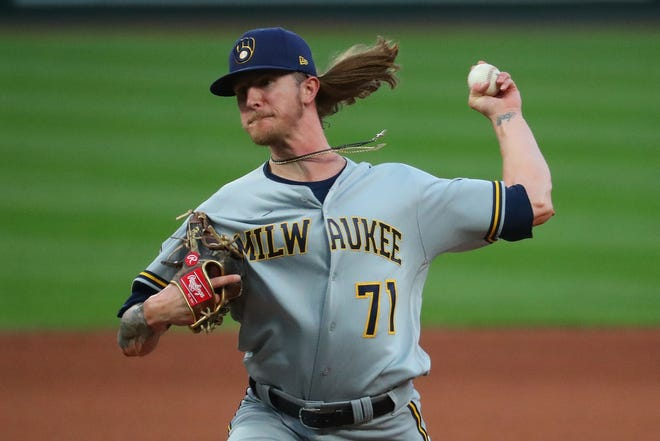 Josh Hader increased use of his slider from 15.4% to 32.3% last season, according to FanGraphs. Hader is also trying to mix in an occasional changeup.
