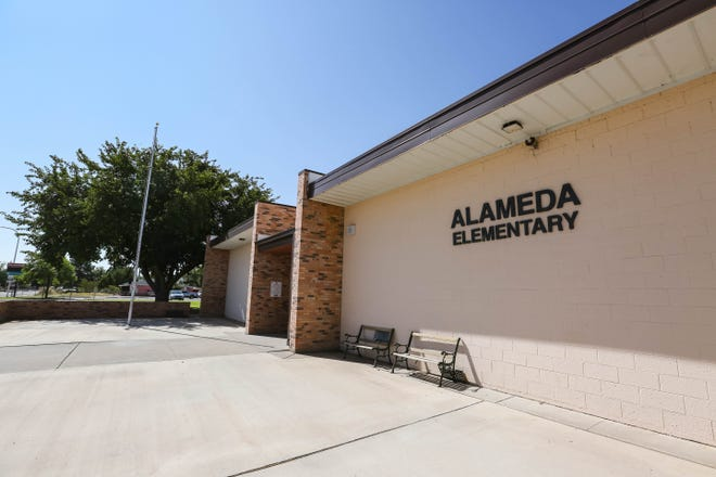 Alameda Elementary School in Las Cruces.
