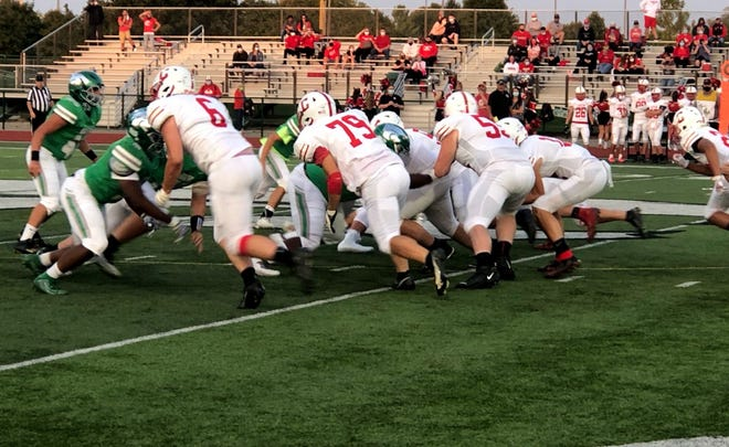 Canton earned its second win of the season, beating Novi in Week 2