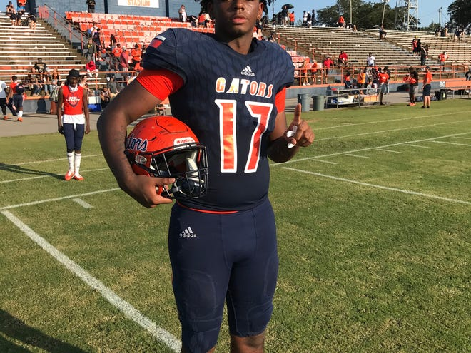 Ja'veon Mobley sealed Escambia's win on Saturday over West Florida with a pass deflection.
