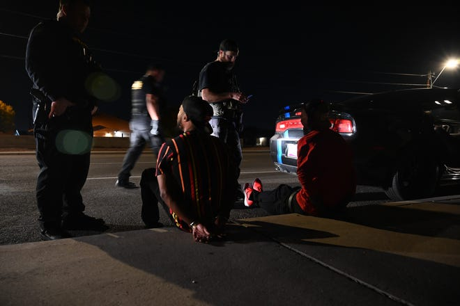 The national Operation Triple Beam enforcement initiative is designed and led by the U.S. Marshals to target and arrest gang related violent fugitives and criminal offenders who commit high-profile crimes such as homicide, felony assault and sexual assault, illegal possession of firearms and illegal drug distribution in cities across the country.