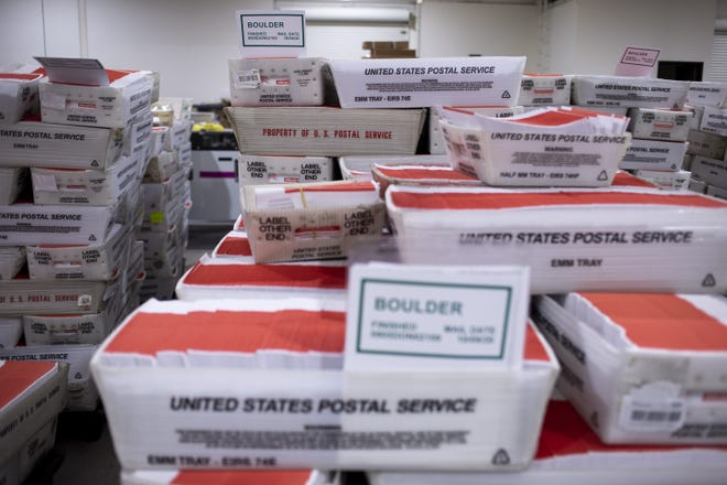 Concerns flared in August about whether cost-cutting measures at the U.S. Postal Service would mean delayed delivery of mail-in election ballots.