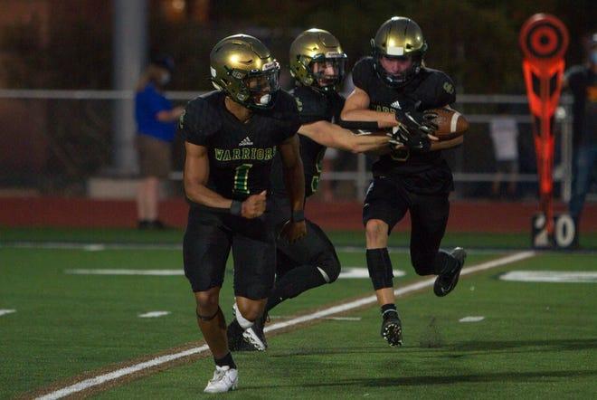 Snow Canyon football defeats Dixie High 35-33 Friday, Sept. 25, 2020.