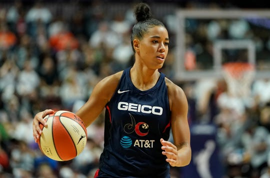 Natasha Cloud opted out of this WNBA season so she could focus on social justice efforts.
