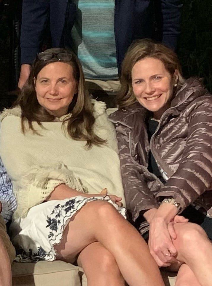 I've known Amy Coney Barrett for over 20 years. Her intellect and heart are unrivaled.