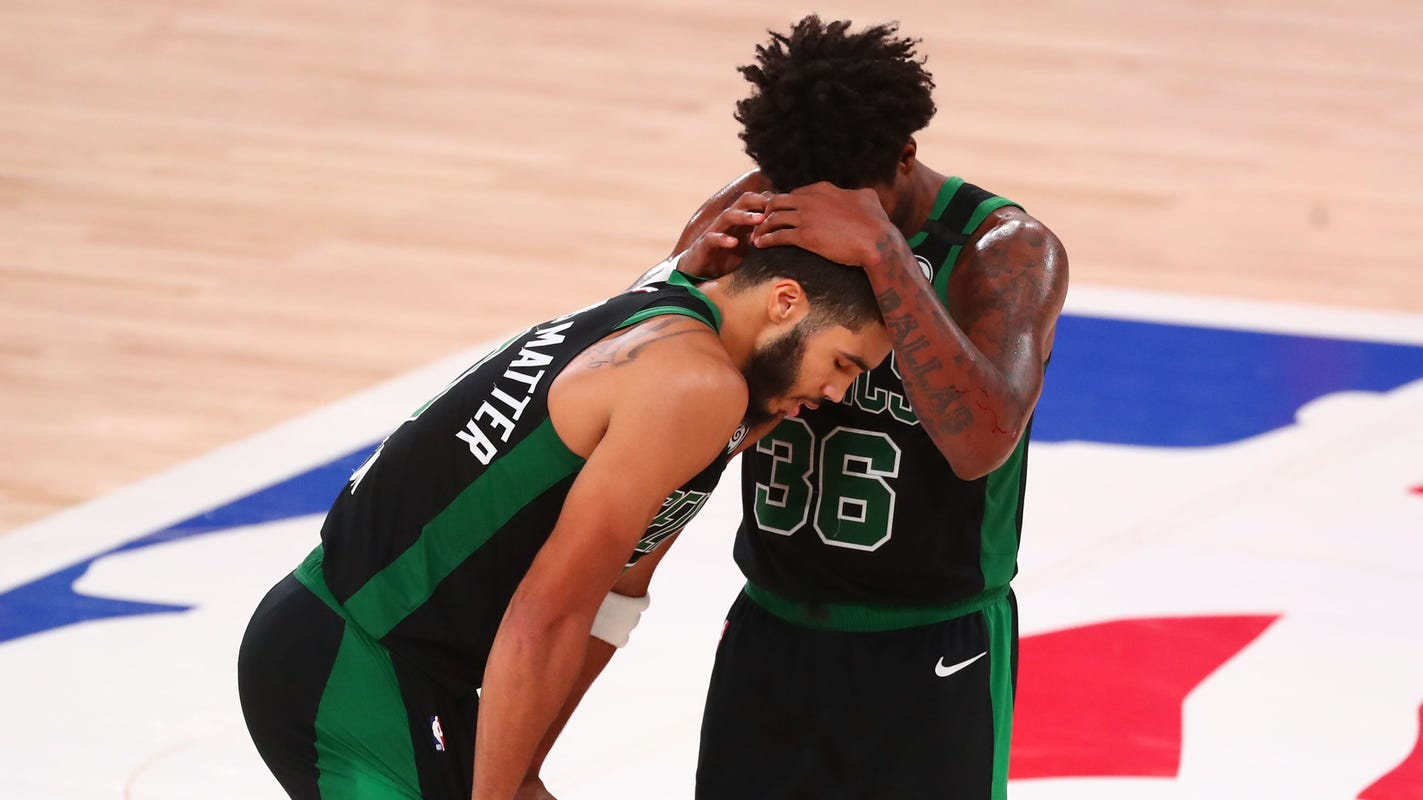 Boston Celtics fight off elimination in Game 5 of Eastern Conference finals vs. Miami Heat thumbnail