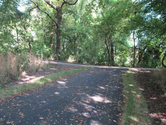 A new trailhead for the Pathfinder Parkway Trail, located on the west side of U.S.75, across from Eastland Shopping Center, was recently completed as part of the Eastland Pathfinder Extension Project. Daisy Creager/Examiner-Enterprise