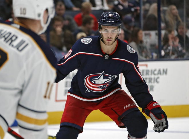 A report says the Blue Jackets are mulling whether to buy out the final three years of center Alexander Wennberg's contract.