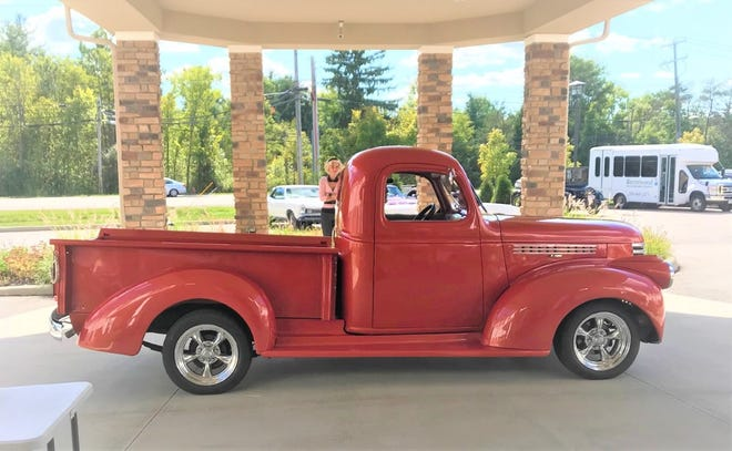 One of the vehicles was this 1953 Ford pickup.