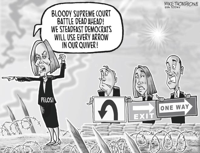 Mike Thompson cartoon - Supreme Court