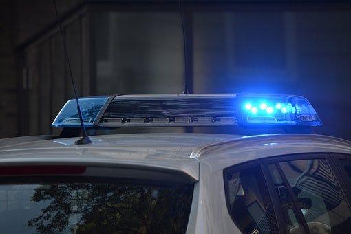 Police car logo