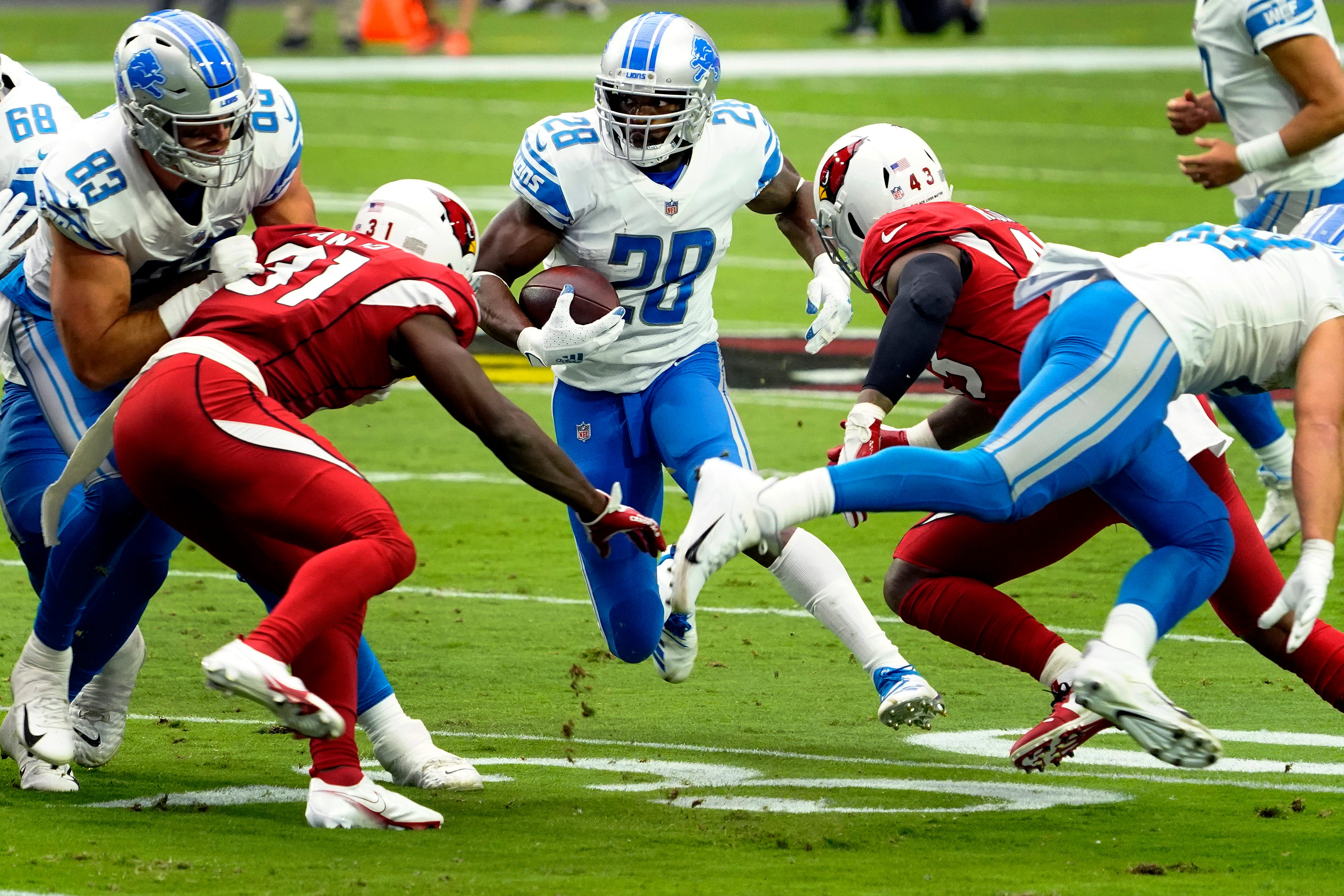 Detroit Lions RB Adrian Peterson: I can play till I'm 40
