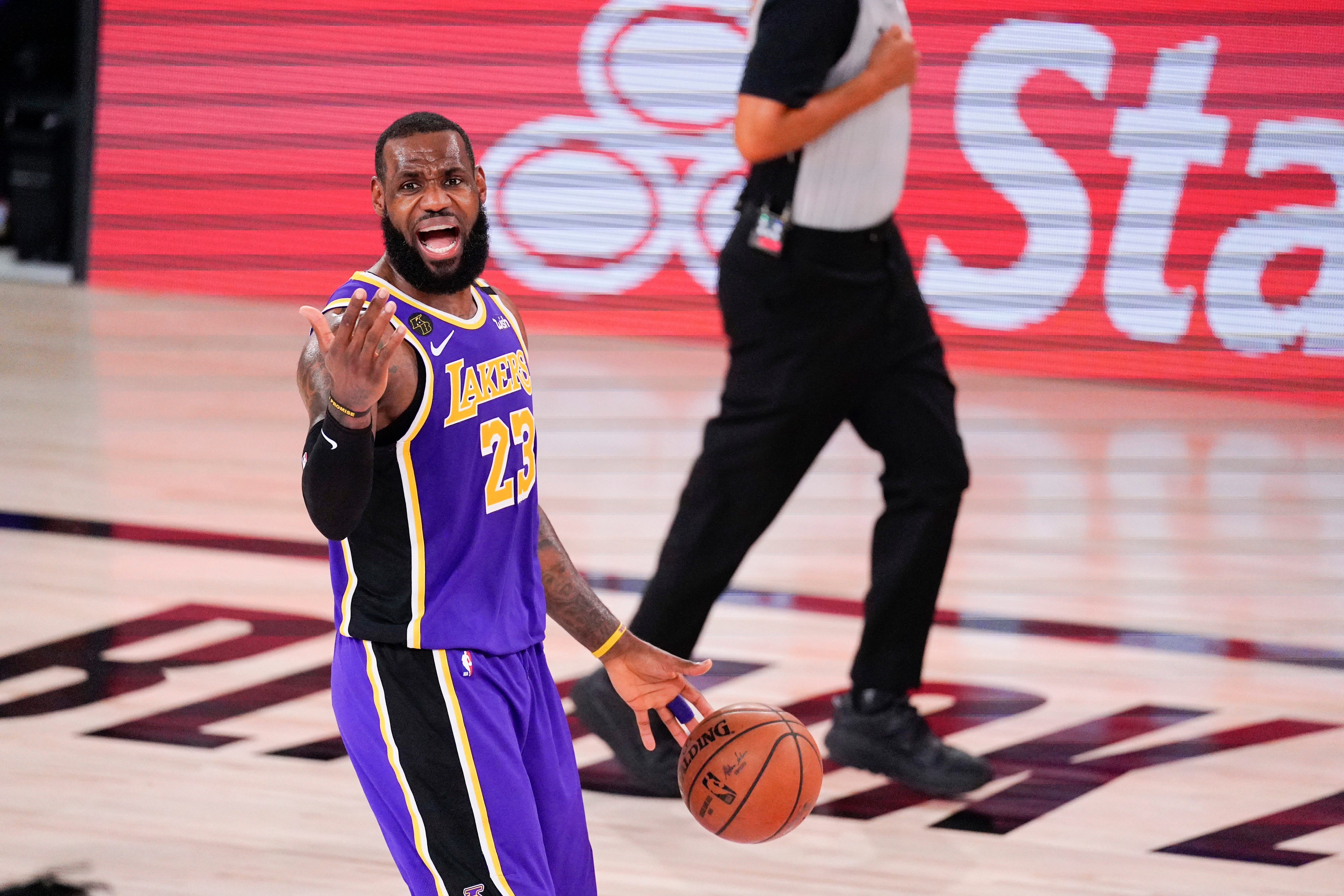 Saturday S Nba Playoffs James Lakers Beat Nuggets In Game 5 To Reach Nba Finals