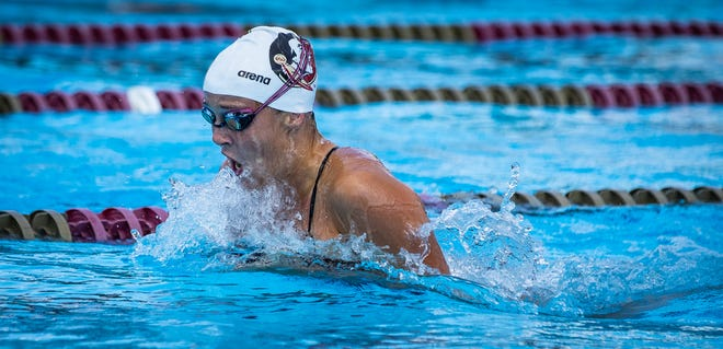 Sophomore Sydney VanOvermeiren will look to build off an award-winning freshman year, in which COVID-19 cancelled the NCAAs. (Photo: FSU Athletics)
