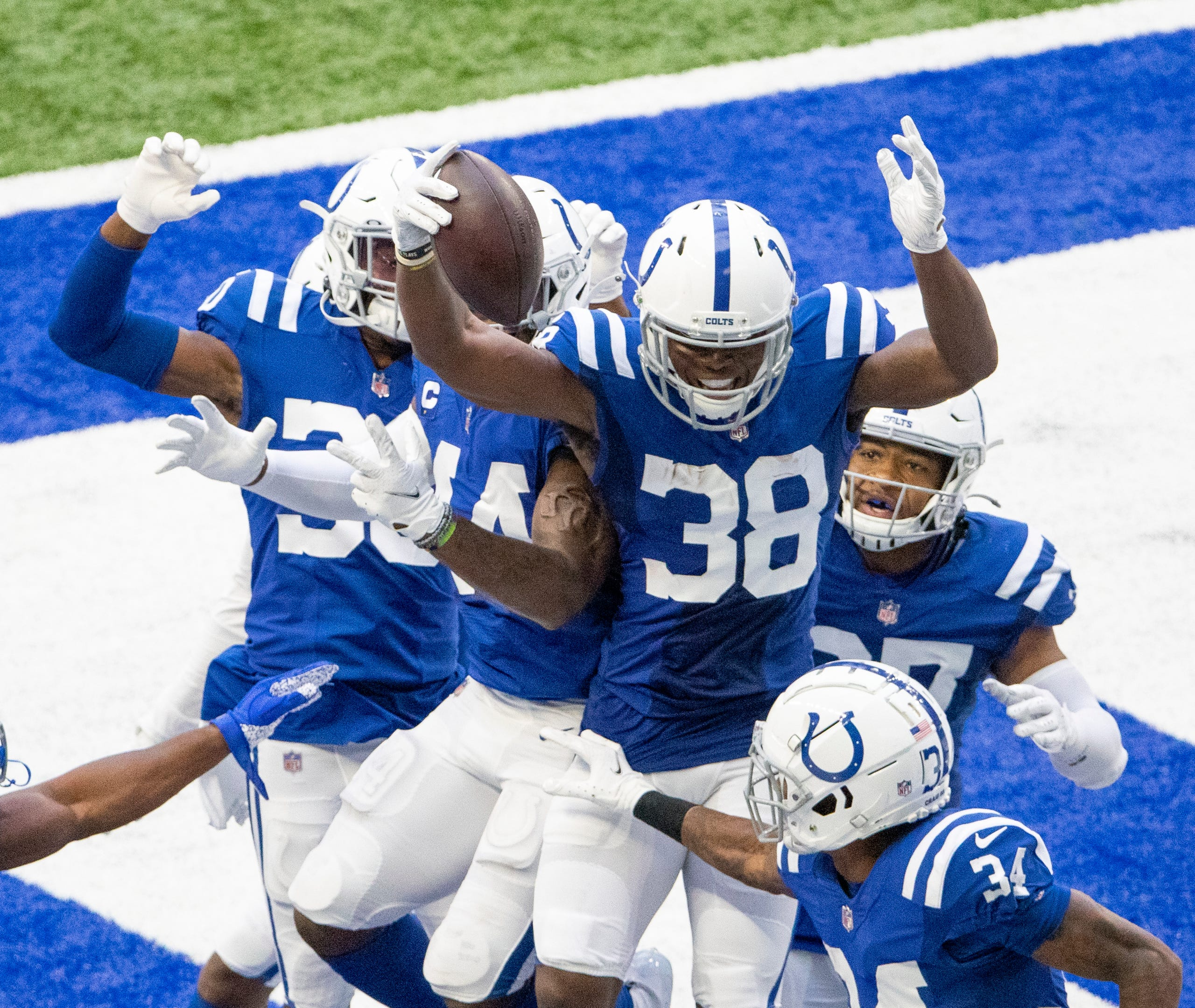 Indianapolis Colts Host New York Jets In Nfl Week 3