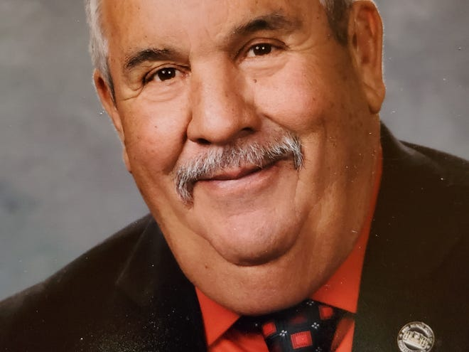 New Mexico District 69 state representative incumbent Harry Garcia (D-Grants).
