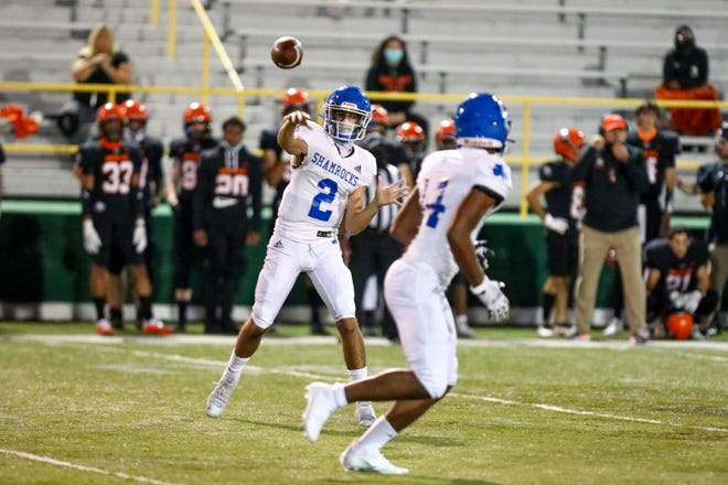 Catholic Central junior quarterback Declan Byle has changed the look of the Shamrock offense