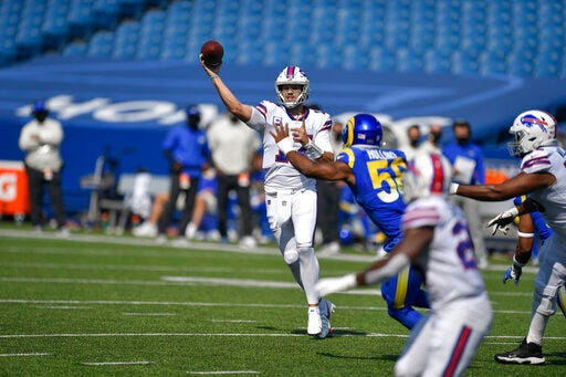 Buffalo Bills avoid disaster, regroup late to knock off Los Angeles Rams after collapse