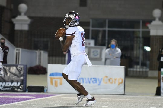 Scenes from Missouri State football's road trip to Central Arkansas on Saturday, Sept. 26, 2020, in Conway, Arkansas.