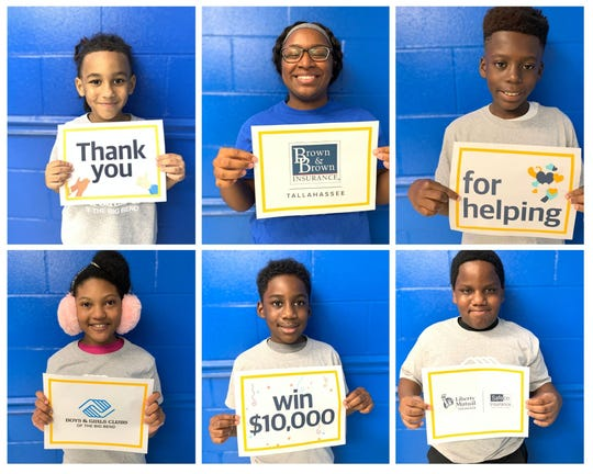 Brown & Brown Insurance company donated $10K to Boys and Girls Clubs for summer camp scholarships