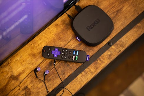 The new Roku Ultra streaming device ($99.99) streams 4K including Dolby Vision and Dolby Atmos surround sound. Improved Wi-Fi delivers better streaming in rooms farther away from the home router. And there's headphones for listening privately. (Embargoed until 9 a.m. ET, Monday Sept. 27.)