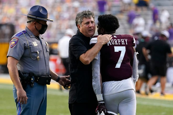 Mike Leach leads Mississippi State past LSU in SEC debut