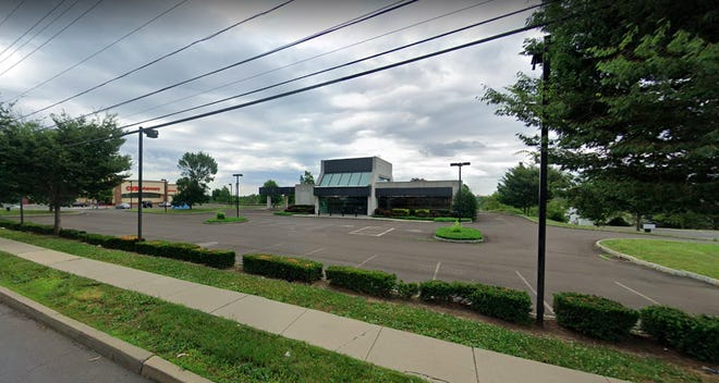 A former TD Bank on Neshaminy Boulevard could become Bensalem's second medical marijuana dispensary if council members grant a condititional use application from CannTech PA LLC this week.