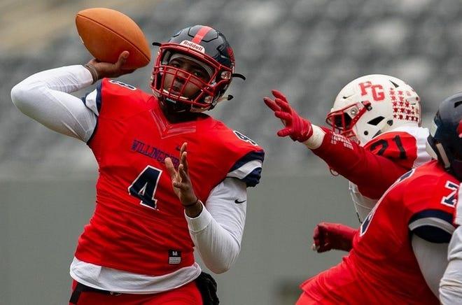 Willingboro senior quarterback Ah-Shaun Davis
