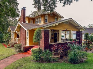 This home at 304 Hillcrest Street in the Dixieland Historic District was put on the century list last year.