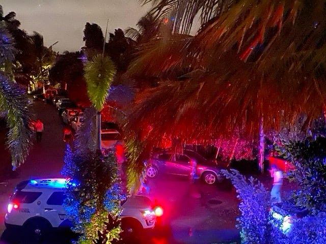 Police arrived three times at a party house on the 100 block of Little Wood Lane on Sunday, Sept. 20 but neighbors say they did not shut down the party.